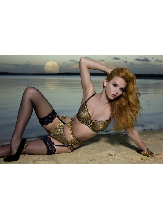 Jewel of the Night Suspender - Gold Star
